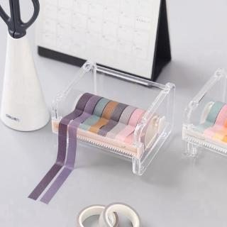 Washi Tape Dispenser Holder Cutter Office Supplies Desk Accessories Orga