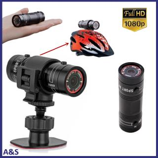 Review F9 Mini Bike Camera HD Motorcycle Helmet Sports Action Camera Video DV Camcorder Full HD 1080p Car