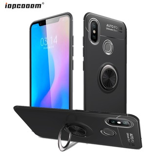 Review Xiaomi Mi 8 Case Magnetic Ring Bracket Silicone Soft Back Cover Xiaomi Mi8 SE