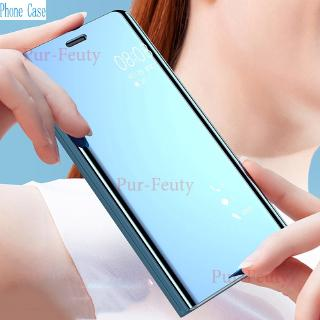 Review Xiaomi Redmi 7A M1903C3EE Luxury Flip Mirror Stand Leather fashion Covers For Xiaomi Redmi 7A 7 A Redmi7A Protective