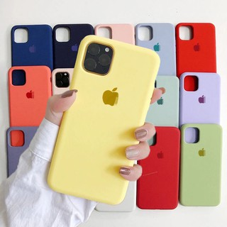 【New color】 IPhone Case เคสนิ่ม เนื้อซิลิโคน APPLE iPhone X XS MAX XR 6+/6S/7+/8PLUS 5/5S/SE 11 Pr