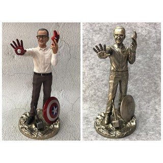 The best ฟิกเกอร์ Marvel Green / Color Edition Stan Lee PVC