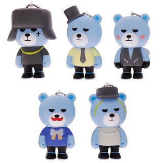 Cute KPOP BIGBANG Boys Cellphone พวงกุญแจ  Pendant Accessory Gift Toys