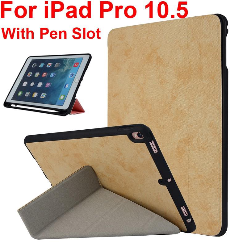 Review iPad Pro 10.5 Case Transformed Stand Cover + Apple Pen slot iPad AIr 3 2019 10.5