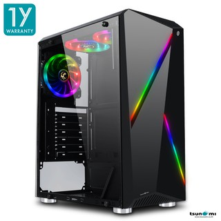 Image # 0 of Review Tsunami Galaxy G8 Tempered Glass ATX Gaming Case