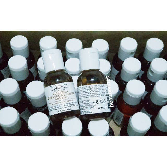 Image # 0 of Review Kiehl's Calendula Herbal Extract Toner Alcohol-Free 40ml