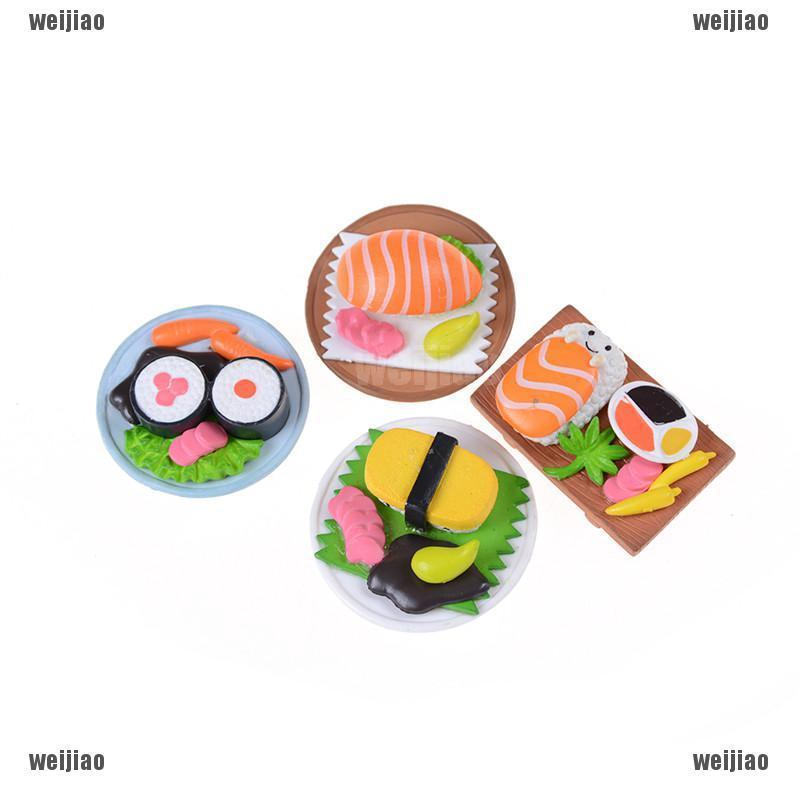 Review Sushi Bento Lunch For Miniature Dollhouse Handmade Food Home Kitchen Decor