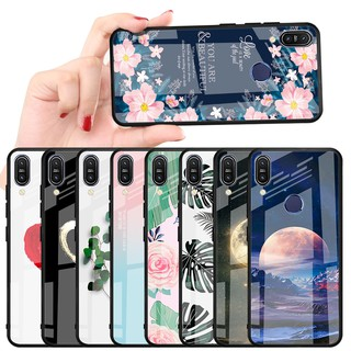 Review เคสแข็ง Asus Zenfone Max Pro M1 ZB601KL / ZB602KL Phone Case Love Tempered Glass Hard Cover
