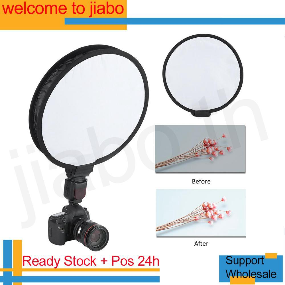 40CM Portable Foldable Round-shape Speedlite Softbox Diffuser for Camera Flash Light