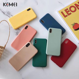 Silicone phone cover iPhone6/6S /6P/6SP /7/8 7P/8PX/XS /XR / XS /Max candy color 8