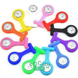Review NEW Nurse Watch Silicone Quartz Movement Fob Brooch Pendant Pocket Tunic Watches【focus】