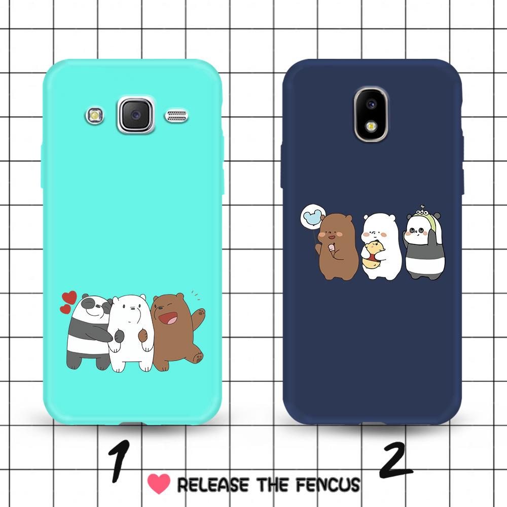 Review Samsung Galaxy J5 J7 2016 J5 J7 Pro J5 J7 Prime Couple Bare Bear Soft Casing