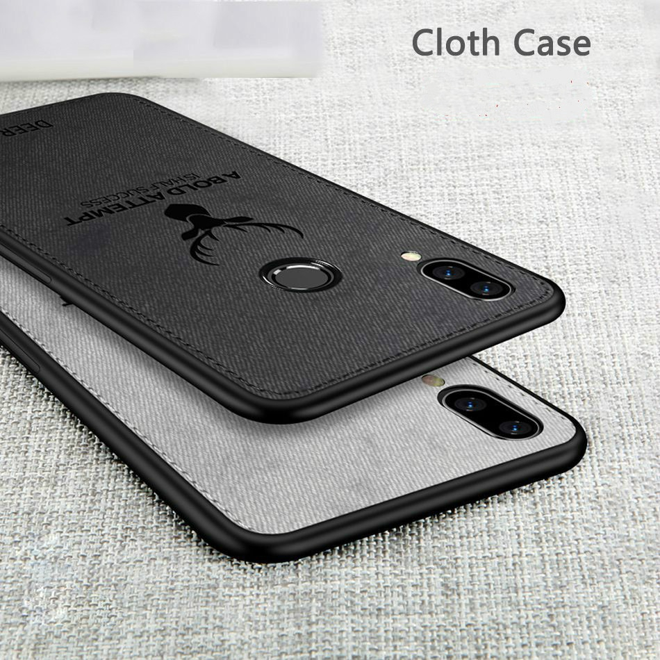 Image # 5 of Review เคสXiaomi Mi 9 9T 8 8se 8lite 6 A1 A2 Lite Max3 Pocophone F1 Case Cloth Fabric Deer Phone Cover