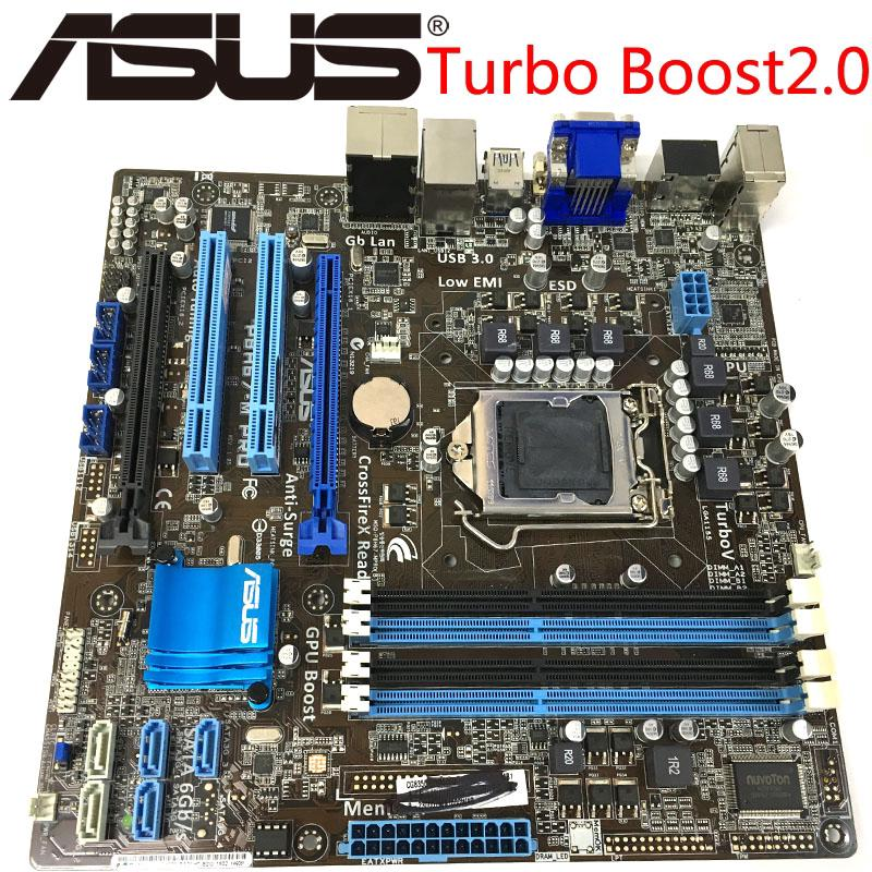 Review Asus P8H67-M PRO Desktop Motherboard H67 Socket LGA 1155 i3 i5 i7 DDR3 32G u ATX UEFI BIOS Original Used Mainboard