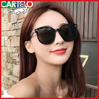 Cartier crocodile 2020 summer men's and women's sun glasses female sunshade UV-proof driving sunglasses couple goggles