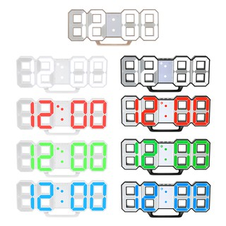 Review Multifunctional Large LED Digital Wall Clock 12H/24H Time Display With Alarm