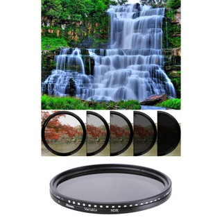Kernel Variable Adjustable Fader ND 2-400 Filter ขนาด 37 40.5 43 46 49 52 55 58 62 67 72 77 mm.