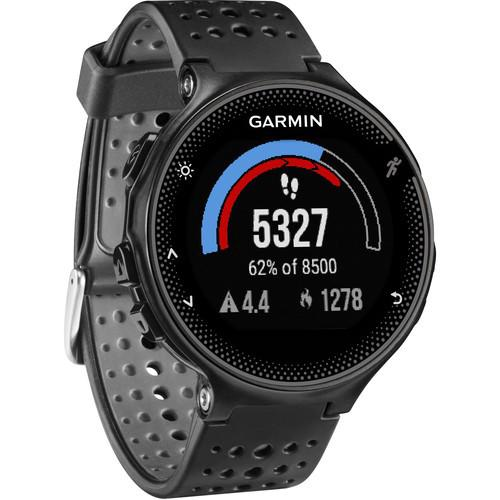 Review Garmin Forerunner 235 GPS Running Watch with Wrist-Based Heart Rate (Black and Gray)