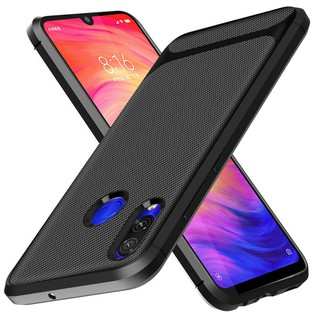 Review เคส case Xiaomi Redmi 7A 9 Note 8 7 K20 Pro Go Y3 S3 Carbon Fiber Soft Phone Case