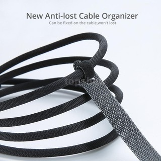 NEW 20Pcs Straps Wrap Wire Cable Cord Earphone Organizer Tie Rope Holder