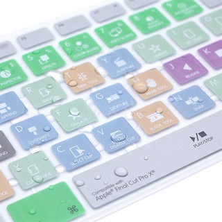 Review ฟิล์มป้องกันฟังก์ชัน IMac คีย์บอร์ด Digital Keyboard Function Protection Apple One Machine Desktop Computer Shortcut
