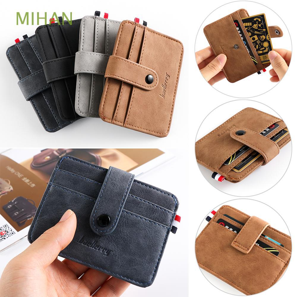 Review Slim Multi-card position Money Pocket Business Coin Purse Small Wallet