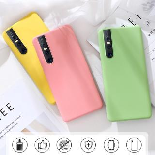 Review Vivo V15 Pro Y17 Y15 Y3 Y12 Y95 Y91 Y93 Y91i Y91C V9 Y85 Case Liquid Silicone Soft Cover Original Cases