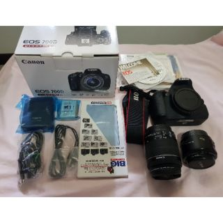 CANON EOS 700D+LENS KIT 18-55 STM + LENS 50MM พร้อมอุปกร