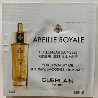 The best พร้อมส่ง Guerlain Abeille Royale Youth Watery Oil 0.5ml.
