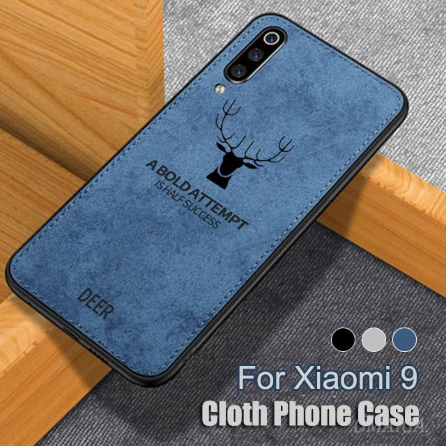 Review Xiaomi 9 SE 8 Lite A2 Play Pocophone F1 Xiaomi Max 3 2 3D Deer Patterned Cloth Soft Case Cover