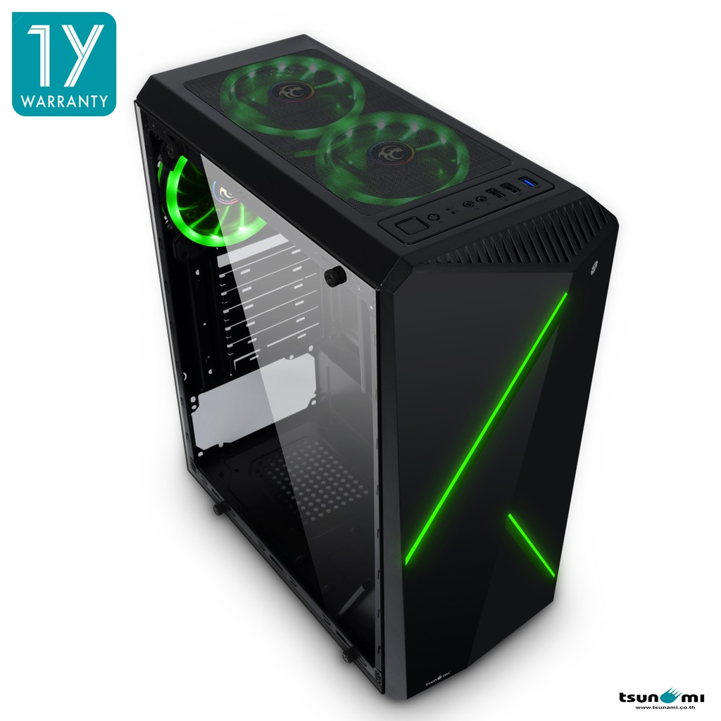 Image # 6 of Review Tsunami Galaxy G8 Tempered Glass ATX Gaming Case