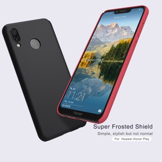 Review Nillkin เคส Huawei Honor Play รุ่น Super Frosted Shield full hardness
