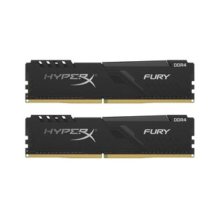 RAM PC KINGSTON HyperX FURY BLACK 16GB (8GBx2) DDR4 BUS 2666 (HX426C16FB3K2/16)