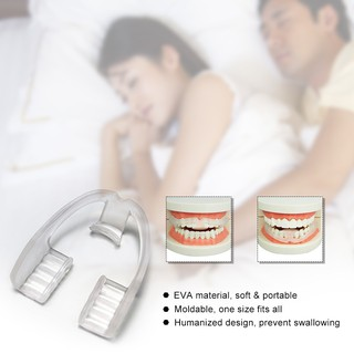 Review 【WMC】Universal Night Sleep Mouth Guard Anti Snore Mouthpiece Stop Teeth Grinding Anti Snoring Bruxism Body Care Sleep To