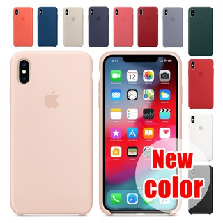 Review 【New color】 IPhone Case เคสนิ่ม เนื้อซิลิโคน APPLE iPhone X XS MAX XR 6+/6S/7+/8PLUS 5/5S/SE 11 Pro MAX