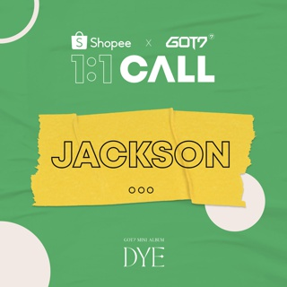 [JACKSON 1:1 Call]- GOT7 - DYE / MINI