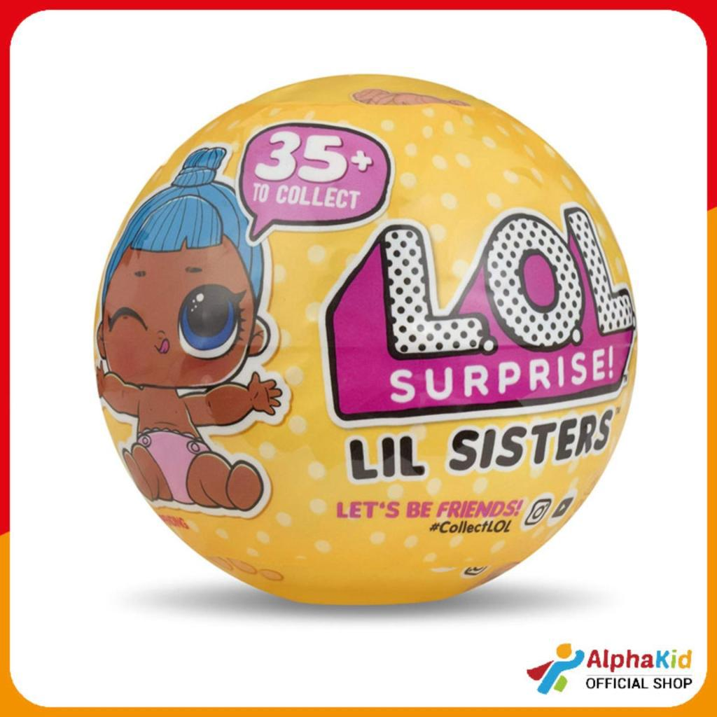 Review Alphakid LOL - Surprise Lil Sisters Ball Series3 W2 LL550693SV