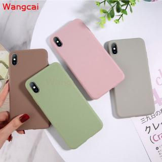 Samsung Galaxy S9 S8 S9+ S8+ Plus Case Candy Color Colorful Plain Matte Fresh Simple Cute Soft Silicone TPU Case Cover