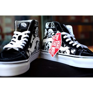 Image # 3 of Review 【VANS】SK8 (Hi) - Skulls/Black/True White การันตีของแท้ 100% by www.WeSneaker.com : VANS Authorized Online Dealer