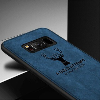 Review Samsung Galaxy S8 S9 Plus S7 Edge เคส Phone Casing เคสโทรศัพท์ Soft Case【Textile