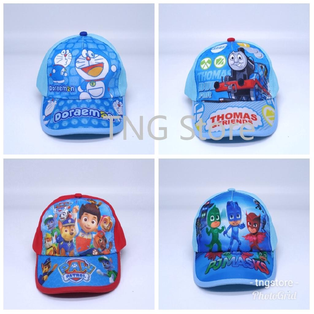 The best Tngstore Doraemon Thomas and Friend Paw Patrol Pj Mask Canvas Baseball Cap