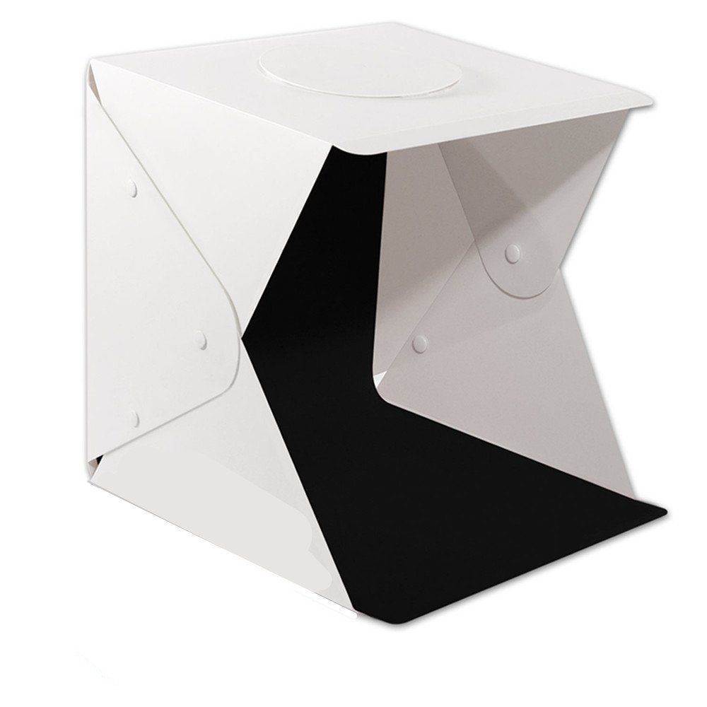 Image # 4 of Review Ifone Portable 40CM Photography Lighting Cube Tent Photo Studio Light Box 2-LED-Strips