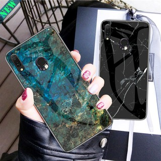 Review 💕 💕 Asus Zenfone Max Pro M2 ZB631KL / Pro M1 ZB601KL Casing New Marbled Glass Back Hrad Phone Case กรณี
