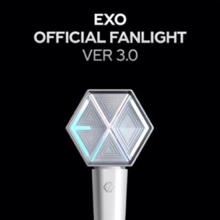 『 PRE-ORDER   』 EXO Official FAN LIGHT ver.3 แท่งไฟ EXO ข