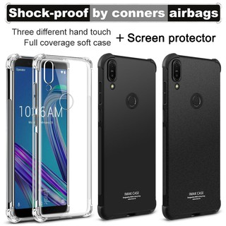 Review ASUS Zenfone Max Pro M1 ZB601KL/ZB602KL IMAK Full Cover Soft Silicone TPU Case