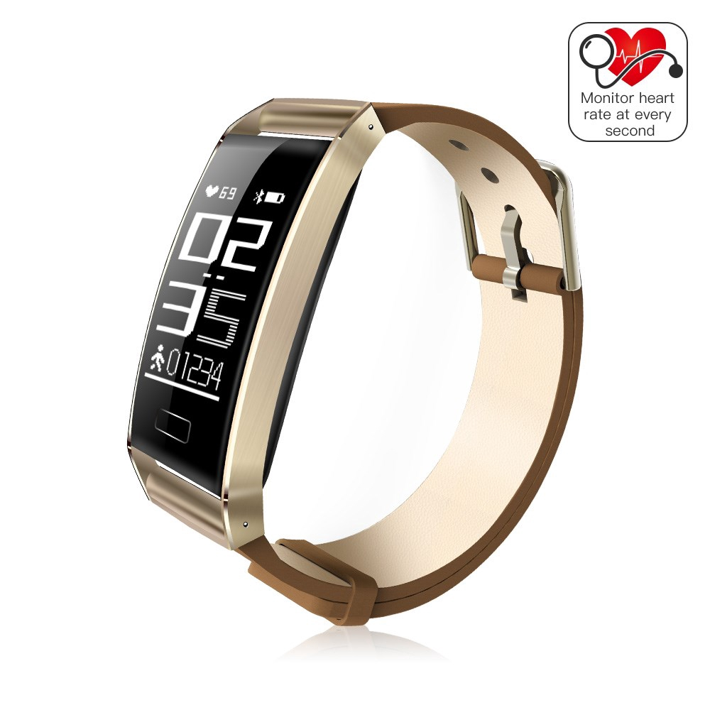 WP101 0.96-inch Fitness Tracker Smart Bracelet Real-time Heart Rate Monitor for iOS Android