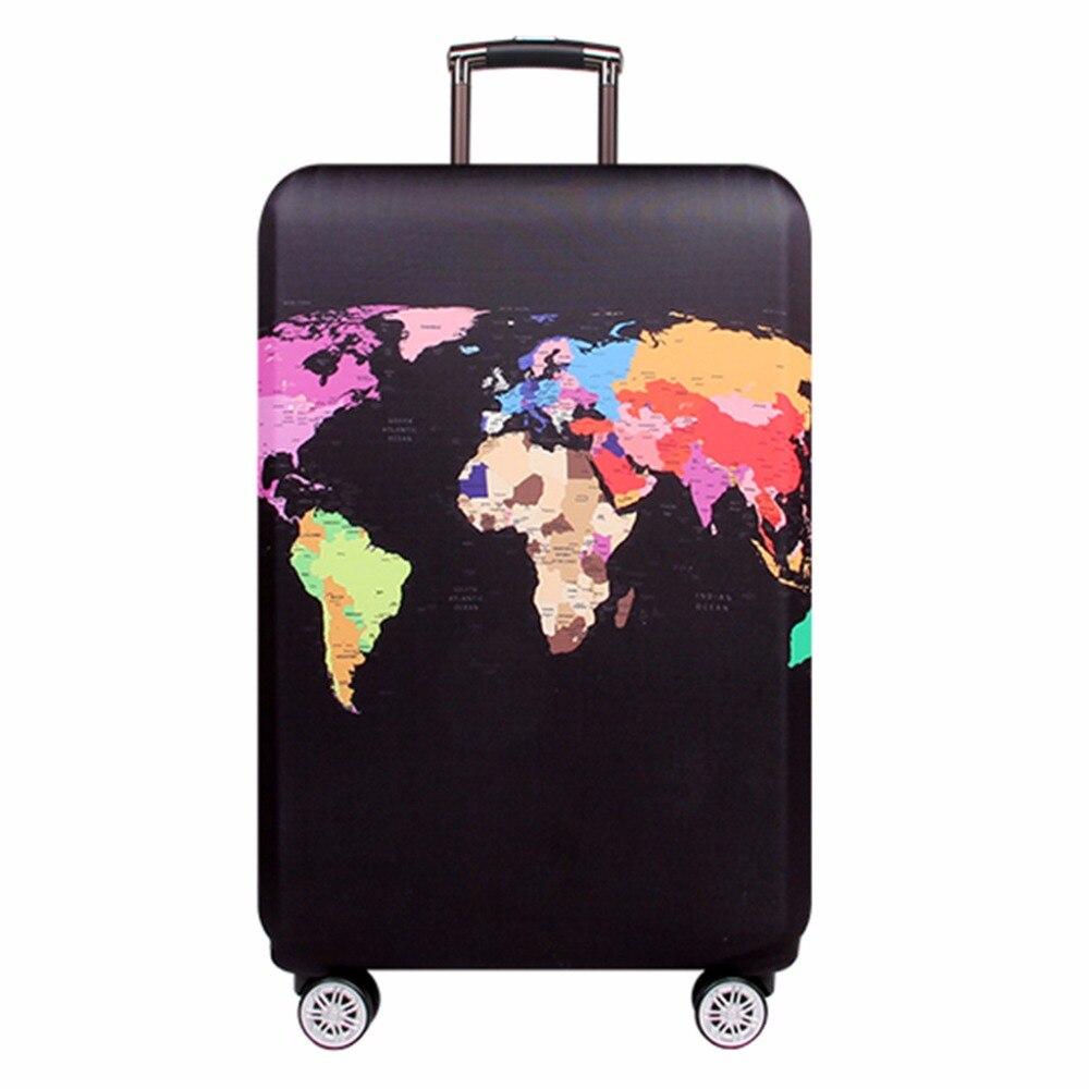 ปกกระเป๋าเดินทางยืดหยุ่นเหมาะสำหรับกระเป๋าเดินทาง 18-32 นิ้วกระเป๋าเดินทางเดินทางอุปกรณ์