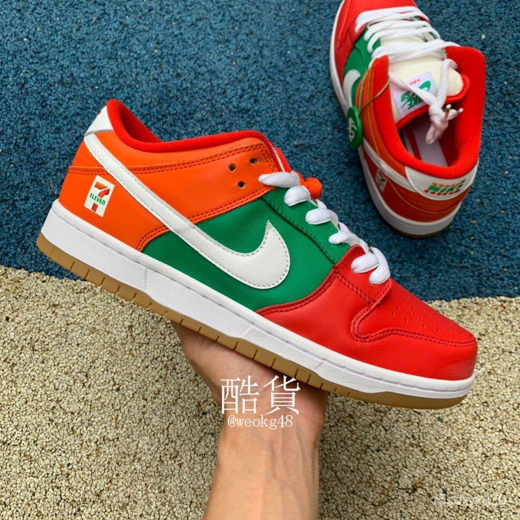 7-Eleven x Nike SB Dunk Low 7-11 ร้านสะดวกซื้อรองเท้าคู่ต่ำ CZ5130-600 TG