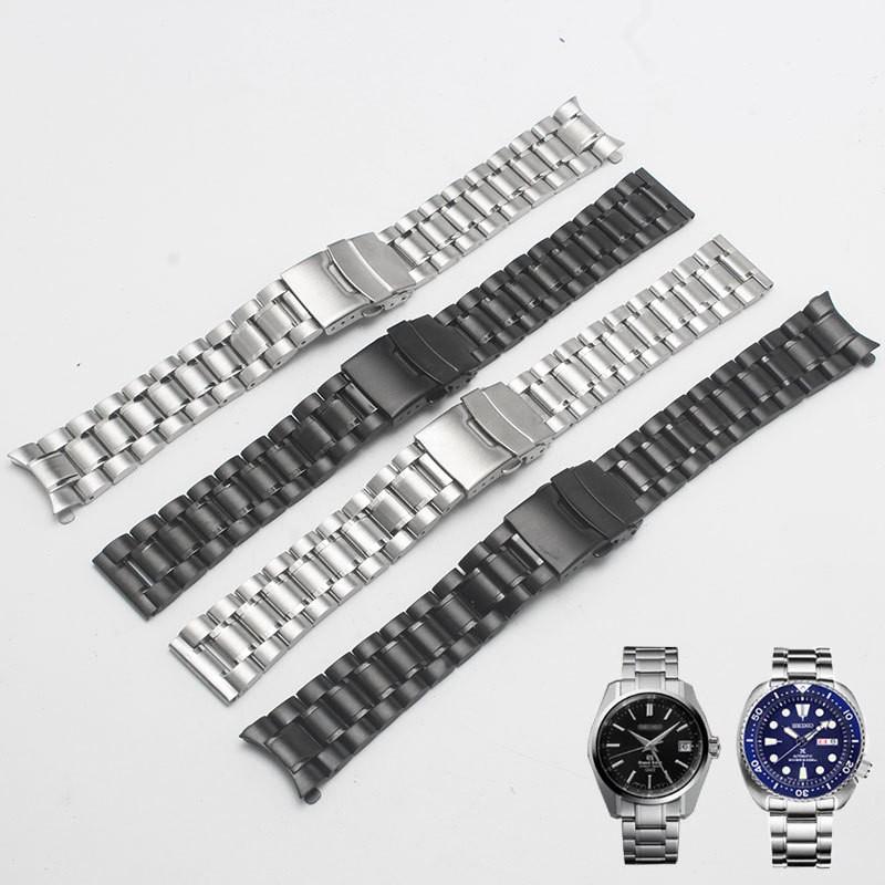 applewatch series 6❃✙☾โปรโมชั่น *-*331 นาฬิกา seiko Seiko No. 5 พร้อมสายเหล็กสแตนเลสผู้ชายและผู้หญิงสายนาฬิกา SNKP09K1 ค