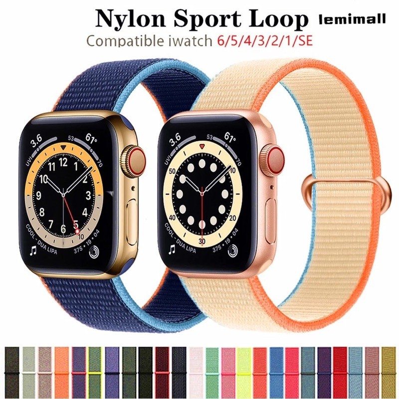 พร้อมส่งจากไทย!สายนาฬิกาข้อมือ AppleWatch Se 42 มม. 38 มม. 40 มม. 44 มม. Series6 5 4 3 2 1 สาย AppleWatch